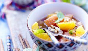 Salade d'agrumes comme au Maroc