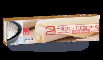 2 pâtes brisées pur beurre pré-étalées