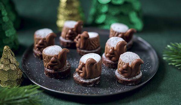 8 écureuils chocolat noisette