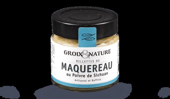 Groix et Nature Rillettes de Maquereau au Poivre de Sechuan