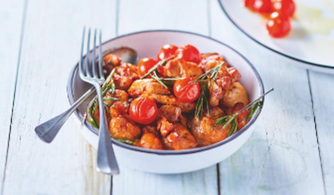Bouchées de poulet à la provençale