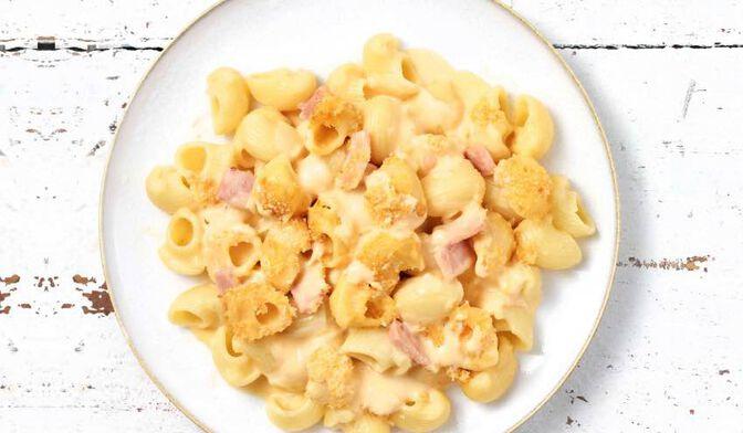 Mac and Cheese au jambon