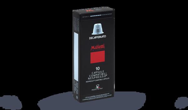 Café Decaffeinato, 10 capsules