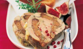 Foie gras au pain d'épices