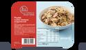 Poulet, nouilles sautées, légumes wok