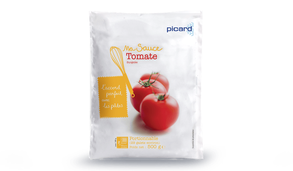 Sauce tomate, huile d'olive vierge extra, oignons