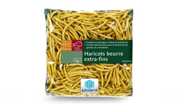 Haricots beurre extra-fins, France