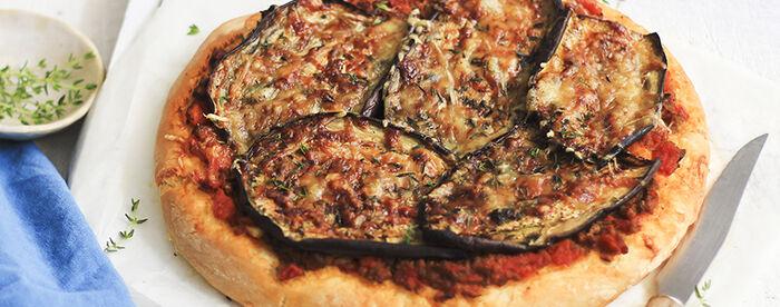 Pizza façon moussaka