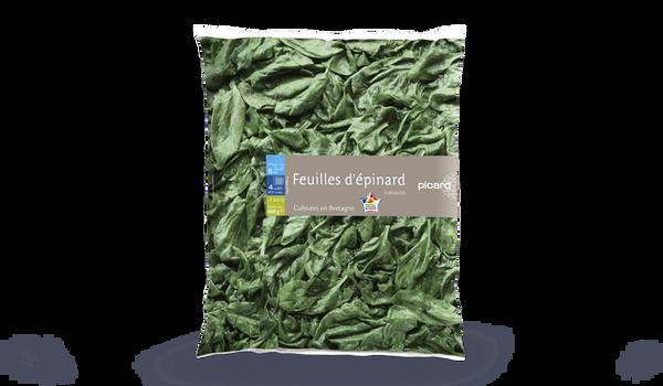 Feuilles d'épinards, France