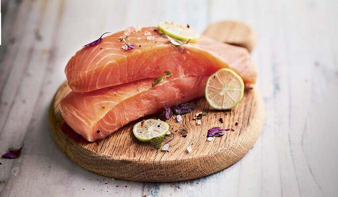 2 pavés de saumon atlantique bio