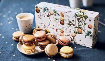 Coffret gourmand 12 macarons