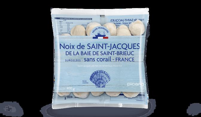 Noix de Saint-Jacques de la Baie de Saint-Brieuc France