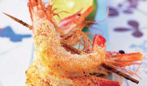 Crevettes thaïes à la noix de coco