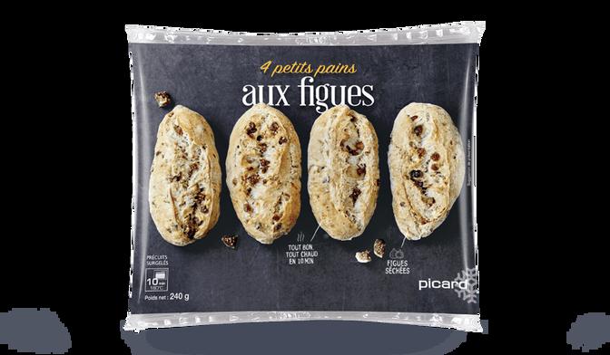 4 petits pains aux figues