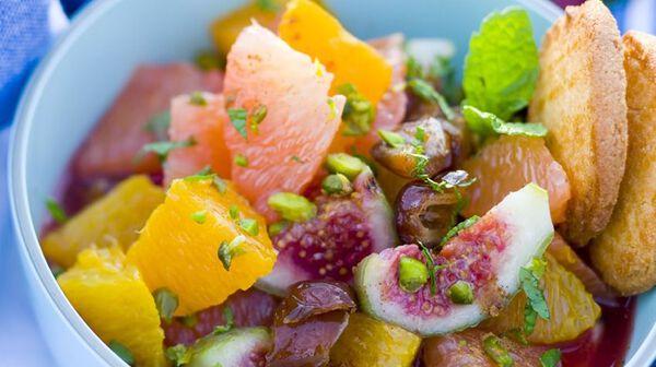 Salade de fruits orientale