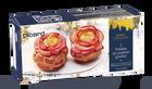 2 entrées au saumon gravlax crème aux agrumes
