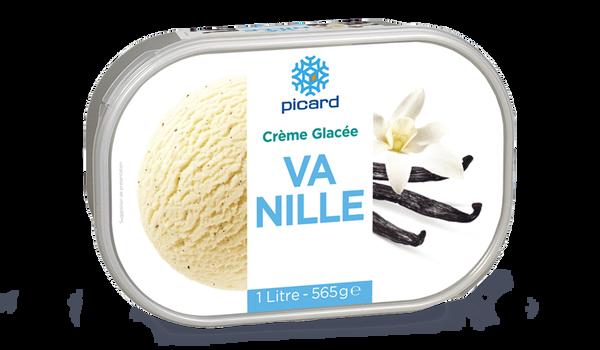 Crème glacée vanille