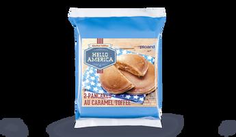 2 pancakes au caramel toffee