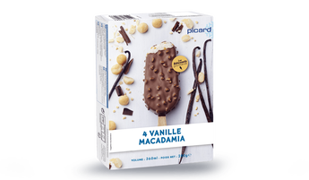 4 bâtonnets vanille-macadamia