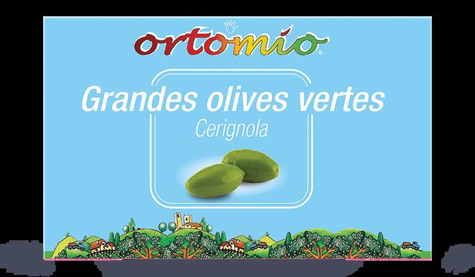 GRANDES OLIVES VERTES