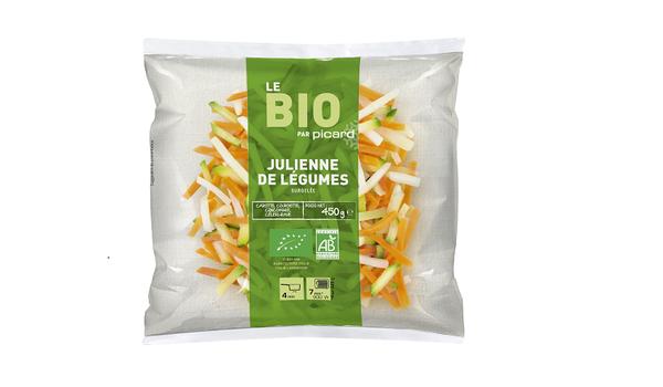 Julienne de légumes bio, France, Italie