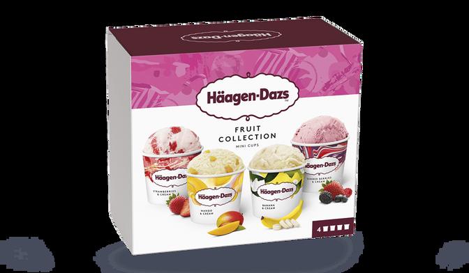 4 mini-pots Fruit Collection