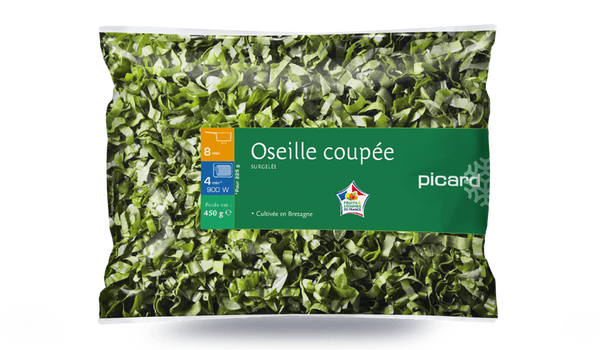 Oseille coupée, France
