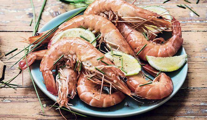 Crevettes tropicales crues, 7 - 9 pièces, ASC** bio