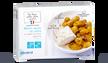 Merlu sauce au cidre et pommes de terre grenaille