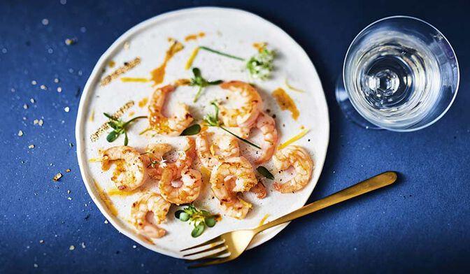 Crevettes tropicales cuites décortiquées ASC