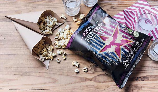 Sweet and salty popcorn, popcorn sucré salé