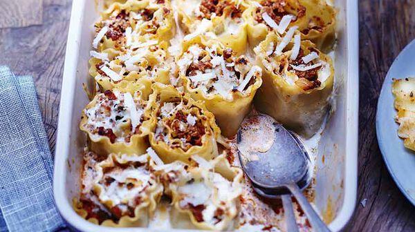 Lasagnes roulées