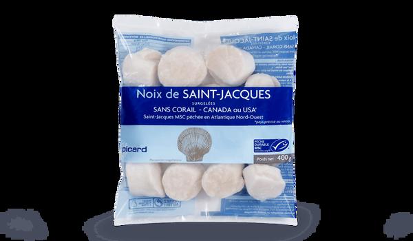Noix St-Jacques Canada/USA MSC (Placopecten) s/co