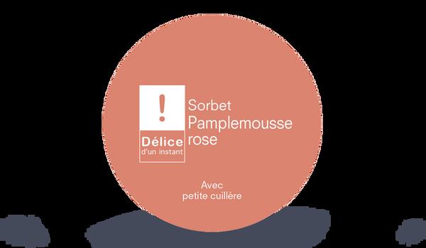 Sorbet pamplemousse rose