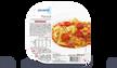 Ravioli au mascarpone et au basilic, sauce tomate
