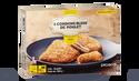 6 cordons bleus de poulet