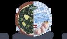 Hindbeh, feuilles de chicorée sautées