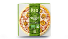 Pizza tomate cerise, mozzarella, jambon bio