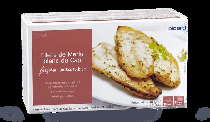 Filets de merlu blanc du Cap façon meunière