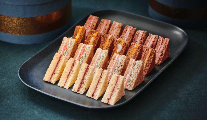 28 sandwichs club festifs