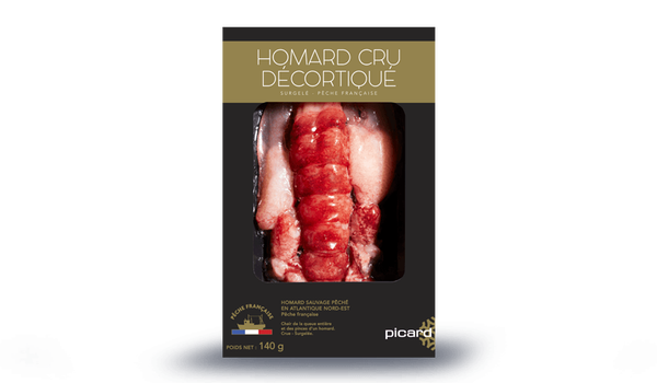 Homard cru décortiqué, Pêche française