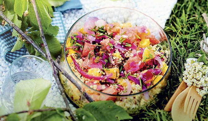 Salade de quinoa aux agrumes