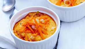 Petites crèmes thaï aux crevettes