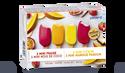 8 mini-bâtonnets sorbet divers enrobage fruits