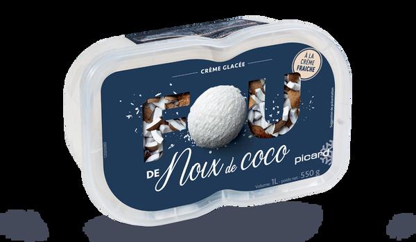 Crème glacée noix de coco