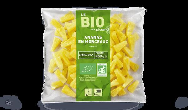 Ananas en morceaux Bio, Costa Rica