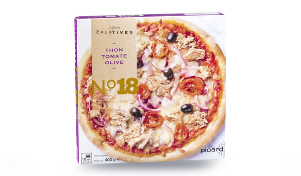 Pizza thon, tomate, olive