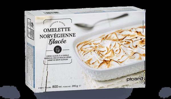 Omelette Norvégienne, 6 parts