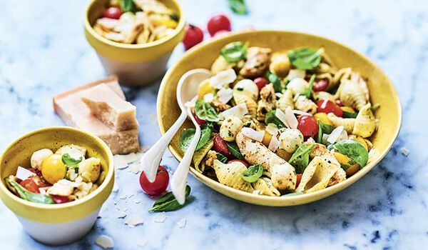 Salade à la parmesane