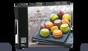 20 mini-macarons